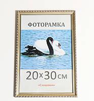 Фоторамка ,пластиковая, 30*40, рамка, для фото, дипломов, сертификатов, грамот, картин,1713-4