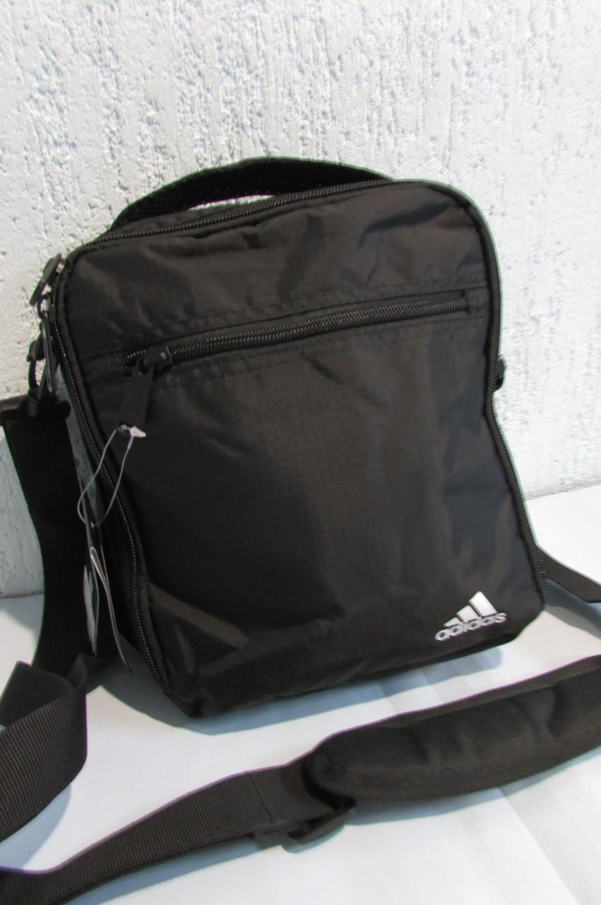 5d123ac4a336 Сумка Adidas (2041) черная код 0481 А - СПОРТ-СИТИ в Северодонецке