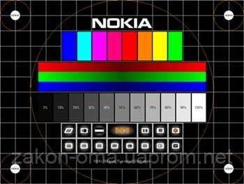 Тестирование монитора программой Nokia Monitor Test