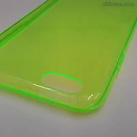 Силиконовый чехол для iPhone 6/6s (зелёный)