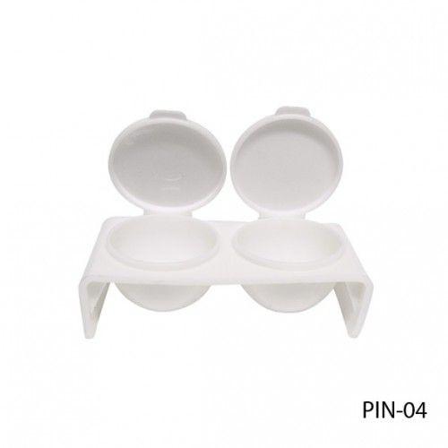 Двойная посуда с крышкой для жидкости (мономера). PIN-04_LeD