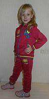 Спортивный костюм  для девочки (134,158). Малиновый
