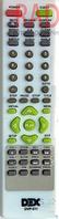 Пульт DVD  DEX DVP-511,DVX-758 как ориг HQ