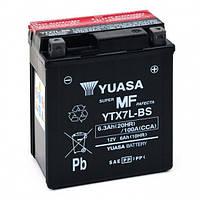 Аккумулятор качественный YUASA YTX7L-BS гелевый 114/71/ 131 подходит на многие модели мототранспорта