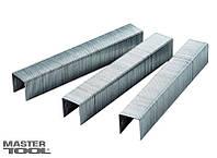Скобы каленые для степлера тип J 6х0,7х11,3 мм (1000 шт) MASTERTOOL