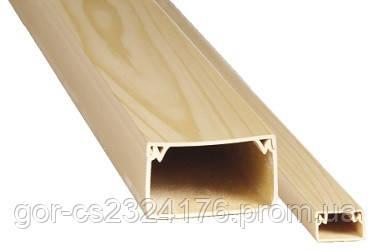 Заглушка для LHD 40x20 (светлое дерево)