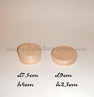 Коробочка из шпона h4см.