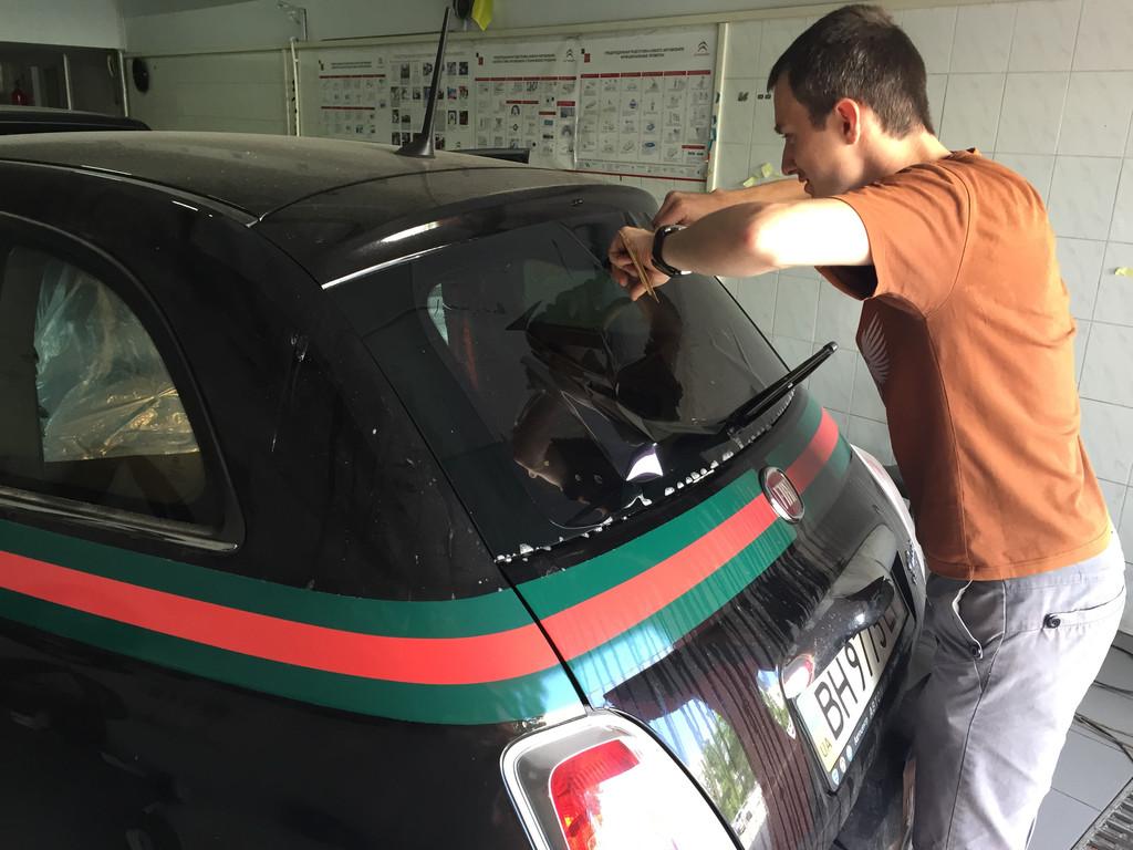 Тонировка Fiat