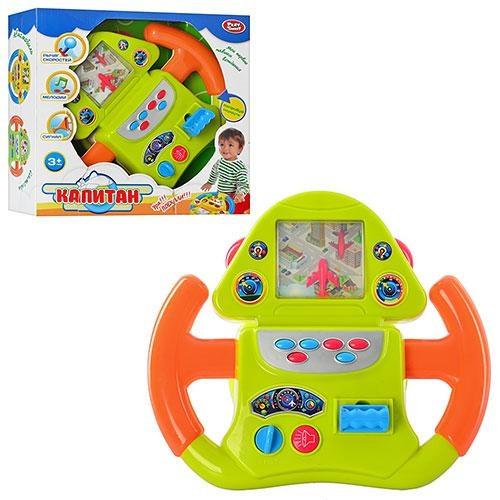 Детский автотренажер руль Play Smart 7390 «Штурвал самолета», световые и звуковые эффекты, батарейки - Интернет магазин «Наш базар» быстро, доступно и качественно в Киеве