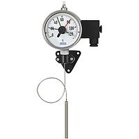 Манометрический термометр с микропереключателем и капилляром модель 70-8