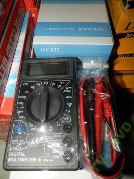 Цифровий мультиметр тестер DT-832 Акція !!!