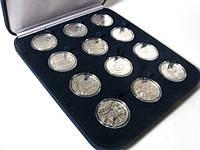 Набор серебряных монет Восточный календарь (Silver 3), фото 1