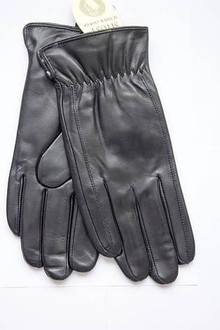 Мужские кожаные перчатки из козы Маленькие, фото 2
