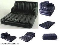 Диван-кровать трансформер 5 в 1 BestWey с электронасосом 75038