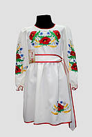 Вишите плаття для дівчинки: Подолянка Тамара1