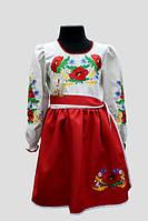 Вишите плаття для дівчинки: Подолянка Тамара2