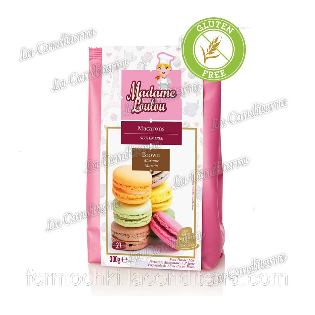 """Суміш для печива """"Макаронів"""" - БЕЗ ГЛЮТЕНУ, 300 г, яскраво-рожева"""