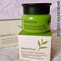 INNISFREE Green Tea Balancing Cream 50ml Крем для нормальной и комбинированной кожи с экстрактом зеленого чая