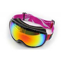 Маска (очки) горнолыжные LEGEND LG0193-BK