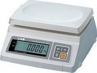 Весы электронные CAS серии SW торговые (фасовочные) 2 — 20 кг без стойки