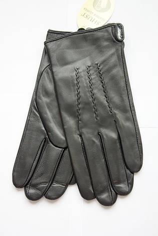 Мужские перчатки из козы Маленькие, фото 2