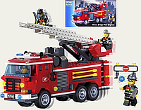 Конструктор «Brick» - «Three Bridge Fire Engines» | «Пожарная машина»