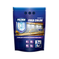 Затирка Polimin FUGA COLOR 2 кг (персиковый), фото 1