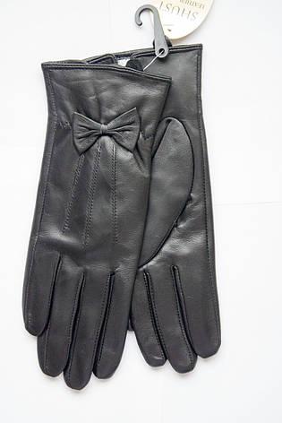 Женские кожаные перчатки из козы СРЕДНИЕ, фото 2
