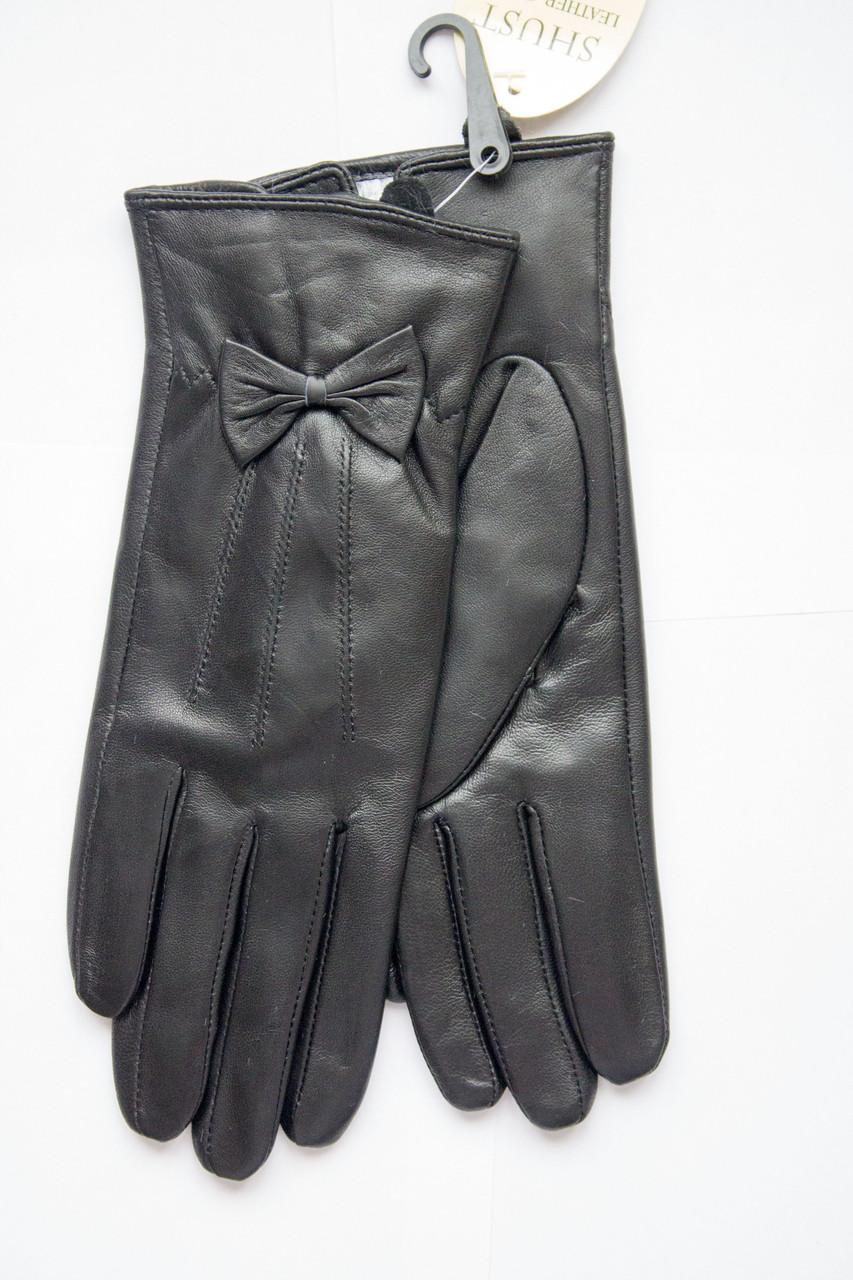 Женские кожаные перчатки из козы СРЕДНИЕ