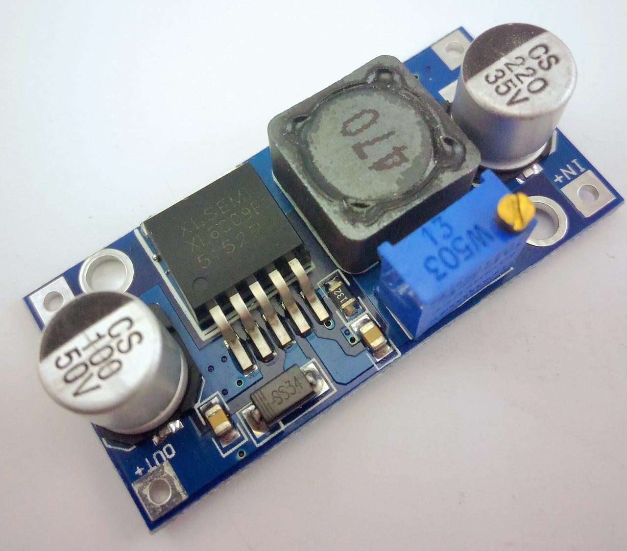 Повышающий преобразователь DС-DC XL6009
