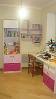 Мебель в детскую для девочки под заказ