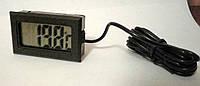 Термометр с датчиком 1 метр, встраиваемый
