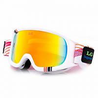 Маска (очки) горнолыжные LEGEND LG0060