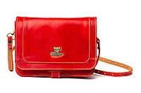 Сумка Gato Negro Flap Bag Красная