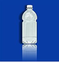 Бутылка пэт 1,0 л прозрачная