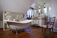 Отдельностоящая ванна на ножках хром Besco PMD Piramida Amelia 190x77