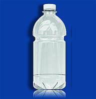 Бутылка пэт 1,5 л прозрачная