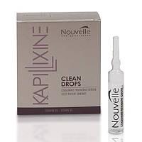 Ампулы против перхоти с маслом эвкалипта Nouvelle Clean Drops 10x10 ml
