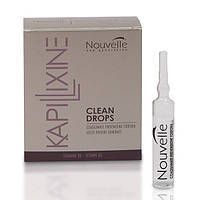Ампулы против перхоти с маслом эвкалипта Nouvelle Clean Drops 10x10 ml