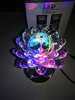 Диско проектор LED (цветок)