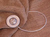 Магнит-подхват для штор ручной работы