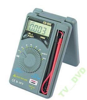 Мультиметр тестер универсальный автомат XB-868 карманный