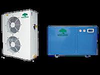 Тепловой насос и радиаторы