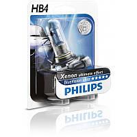 Автомобильная лампа HB4 BlueVision 12V P22d Блистер