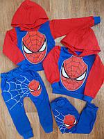 Спортивный костюм Спайдермен Человек Паук 86-92 см