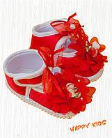 Пенетки красные для девочки