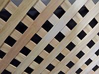 Решетка декоративная деревянная 5P  1500x800 мм(клен,ольха,дуб,бук)