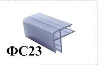 Брызговик соединительный, угловой для дверей душевой ( ФС023))