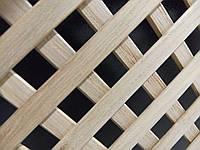 Решетка декоративная деревянная 5P  1200x620 мм(клен,ольха,дуб,бук)