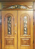 Двери входные с МДФ накладками 30
